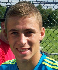 Zulte Waregem midfielder Thorgan Hazard (Photo Credit: Swing59)